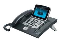 Auerswald COMfortel 3600 IP LCD Wired handset Black (Schwarz)