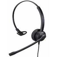 Tiptel 9020 Monophon Kopfband Schwarz (Schwarz)