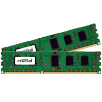 Crucial CT2K102464BD160B 16GB DDR3L 1600MHz Speichermodul (Schwarz, Grün)