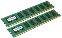 Crucial CT2K204864BD160B 32GB DDR3 1600MHz Speichermodul (Schwarz, Grün)