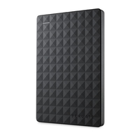 Seagate Expansion Portable 3TB 3000GB Schwarz Externe Festplatte (Schwarz)