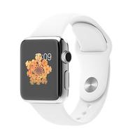 Apple Watch (Weiß, Edelstahl)