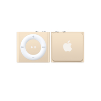 Apple iPod shuffle 2GB MP3 Spieler 2GB Gold (Gold)