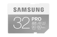 Samsung 32GB SDHC (Grau, Weiß)