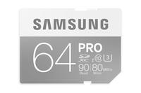 Samsung 64GB SDXC (Grau, Weiß)