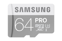 Samsung 64GB microSDXC (Grau, Weiß)