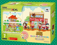 Nintendo New 3DS + Animal Crossing: Happy Home Designer Pack (Mehrfarbig)