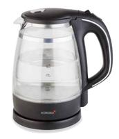 Korona 20610 Wasserkocher (Schwarz, Transparent)