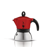 Bialetti MOKA INDUCTION 3 TZ RED Rot (Rot)