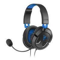 Turtle Beach Ear Force Recon 50P Stereophonisch Kopfband Schwarz, Blau Headset (Schwarz, Blau)