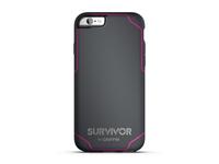 Griffin GB41560 Handy-Schutzhülle (Grau, Pink)