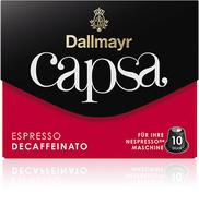 Dallmayr Capsa Espresso Decaffeinato (Schwarz, Rot)
