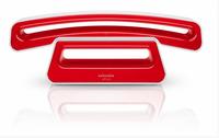 SwissVoice ePure 2 (Rot, Weiß)