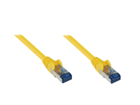 Alcasa 8060-H003Y Netzwerkkabel (Gelb)