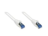 Alcasa 8060-H100W Netzwerkkabel (Weiß)