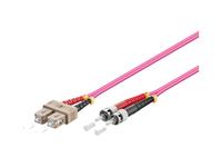 Alcasa LW-8075TC4 Glasfaserkabel (Violett)