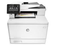 HP LaserJet Pro MFP M477fdw Laser A4 WLAN Grau (Grau)