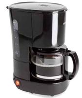 Korona 12013 Drip coffee maker 0.6l 6Tassen Schwarz Kaffeemaschine (Schwarz)