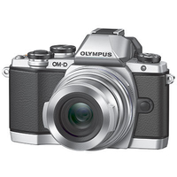 Olympus OM-D E-M10 Mark II + M.ZUIKO DIGITAL EZ-M14-150R (Silber)