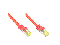 Alcasa 8070R-020R Netzwerkkabel (Rot)