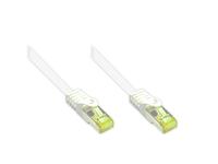 Alcasa 8070R-075W Netzwerkkabel (Weiß)