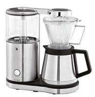 WMF 04 1220 0011 Kaffeemaschine (Schwarz, Edelstahl, Transparent)