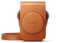 Sony LCSRXGT.SYH Schutzhülle Braun Kameratasche (Braun)