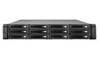 QNAP REXP-1220U-RP Rack (2U) Schwarz Disk-Array (Schwarz)