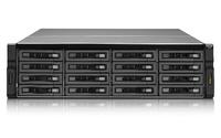 QNAP REXP-1620U-RP Rack (3U) Schwarz Disk-Array (Schwarz)