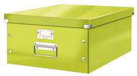 Leitz Click & Store Aufbewahrungs Box & Organizer zur Aktenaufbewahrung (Grün)