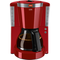 Melitta 21423.5 Drip coffee maker 1.25l 15Tassen Kaffeemaschine (Rot)
