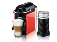 DeLonghi EN 126.AE Kaffeemaschine (Weiß, Coral)