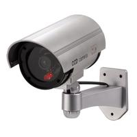 Xavax 00111993 Sicherheitskamera-Attrappe (Silber)