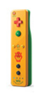 Nintendo Wii Remote Plus Bowser (Gelb)