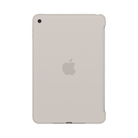 Apple iPad mini 4 Silikon Case – Stein (Beige)