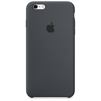 Apple iPhone 6s Silikon Case – Anthrazit (Grau, Charcoal)