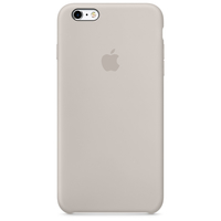 Apple iPhone 6s Silikon Case – Stein (Beige)