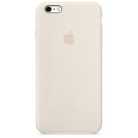 Apple iPhone 6s Silikon Case – Altweiß (Elfenbein)