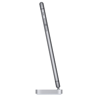 Apple iPhone Lightning Dock – Space Grau (Grau, Metallisch)