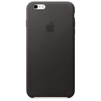 Apple iPhone 6s Plus Leder Case – Schwarz (Schwarz)