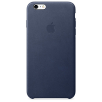 Apple iPhone 6s Plus Leder Case – Mitternachtsblau (Blau)