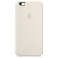 Apple iPhone 6s Plus Silikon Case – Altweiß (Elfenbein)