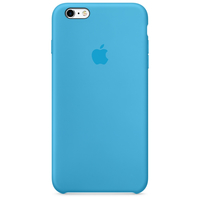 Apple iPhone 6s Plus Silikon Case – Blau (Blau)