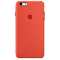 Apple iPhone 6s Plus Silikon Case – Orange (Orange)