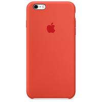 Apple iPhone 6s Plus Silikon Case – Orange (Orange)