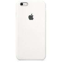 Apple iPhone 6s Plus Silikon Case – Weiß (Weiß)