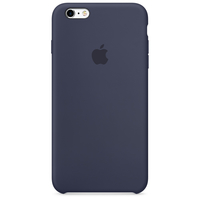 Apple iPhone 6s Plus Silikon Case – Mitternachtsblau (Blau)