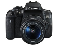 Canon EOS 750D + EF-S 18-55mm IS STM + CS100 (Schwarz)