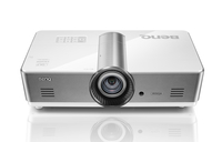 Benq SW921 Desktop-Projektor 5000ANSI Lumen LCD WXGA (1280x800) 3D Silber, Weiß Beamer (Silber, Weiß)