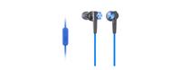 Sony MDR-XB50AP (Schwarz, Blau)